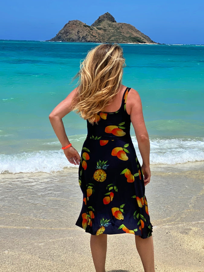 women's clothing sundress mango hawaii sunkissed summer dress