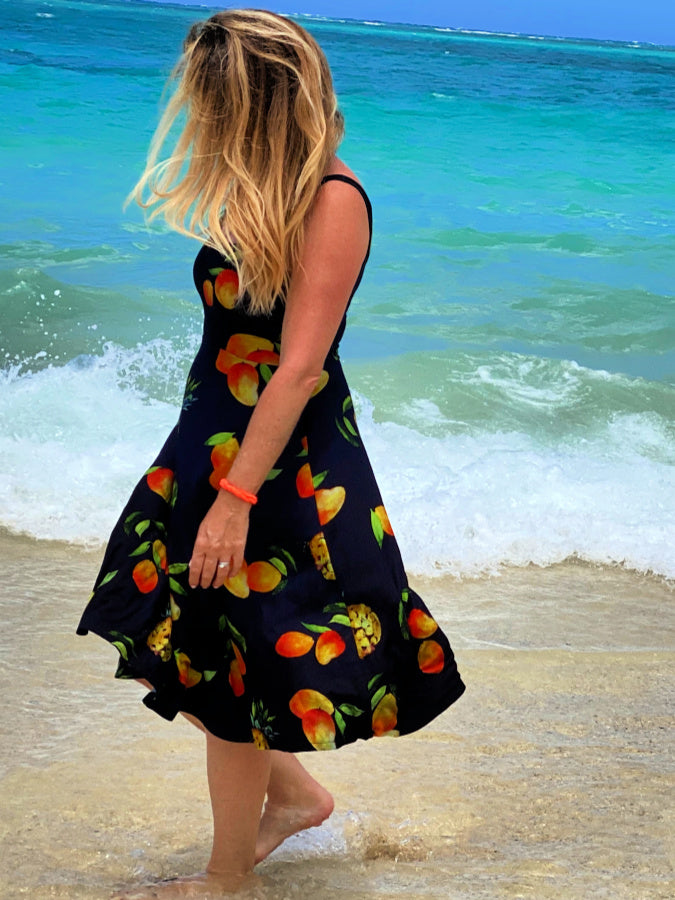 women's clothing sundress mango hawaii sunkissed