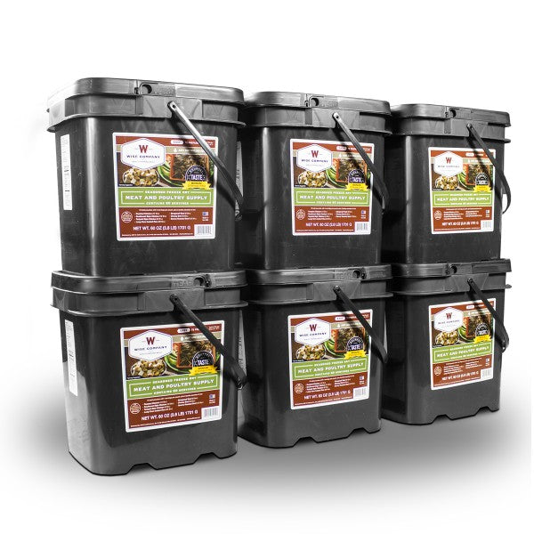 360 Serving Gourmet Freeze Dried Meat