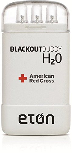 The American Red Cross Blackout Buddy H2O water-activated, emergency light, pack of 3, ARCBBH2010W-TRP