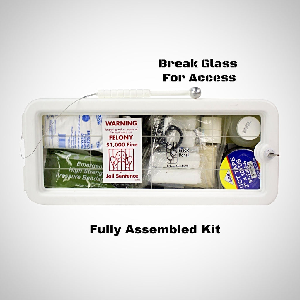 Fully Assembled Active Shooter Trauma Management Kit