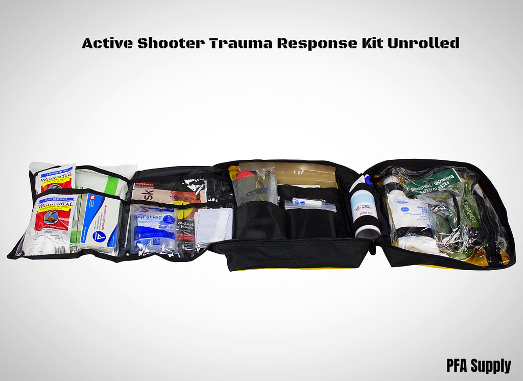 Active Shooter Trauma Response Kit - Unrolled