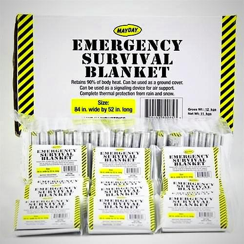 1 Case Emergency Survival Blankets