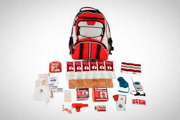 1 Person Survival Kit in Red