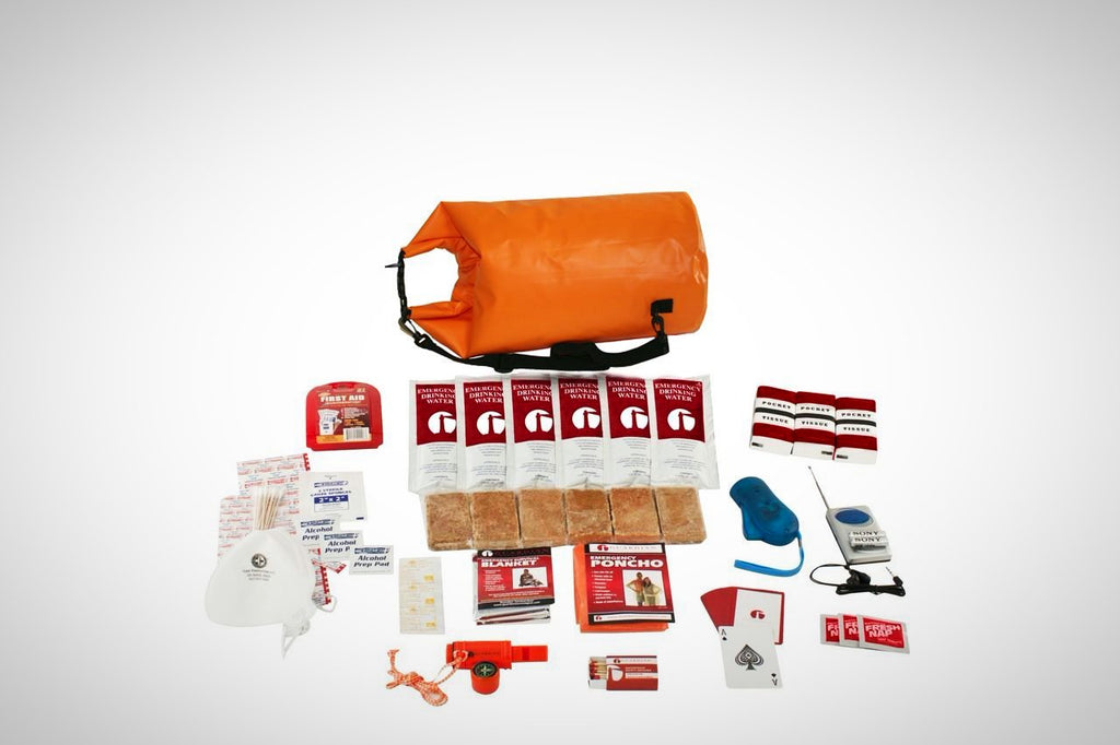 1 Person Survival Kit in Dry Bag