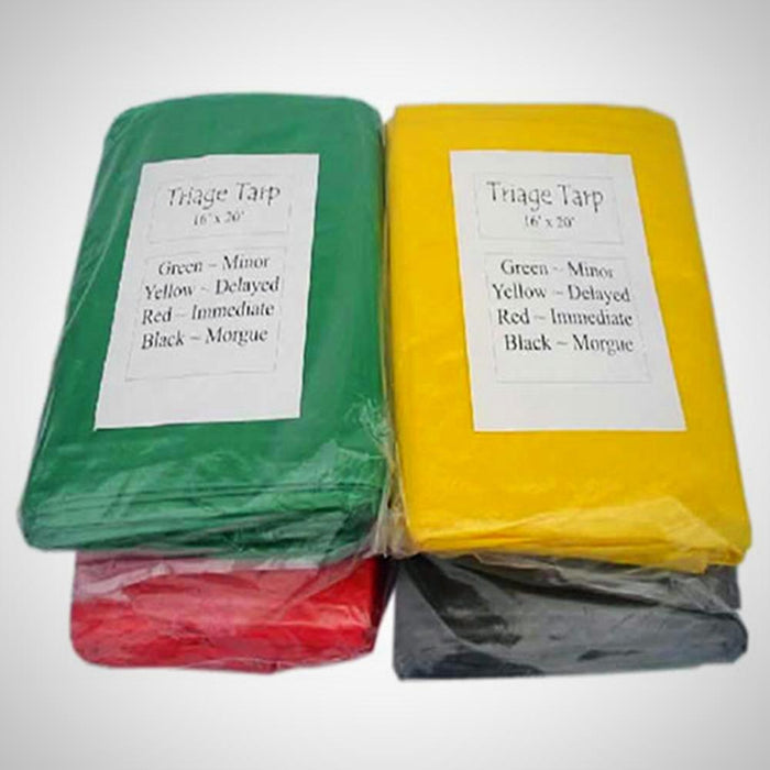 Triage Tarps Set of 4 16×20