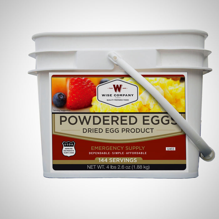 Wise Foods Powdered Eggs In a Bucket 144 Servings