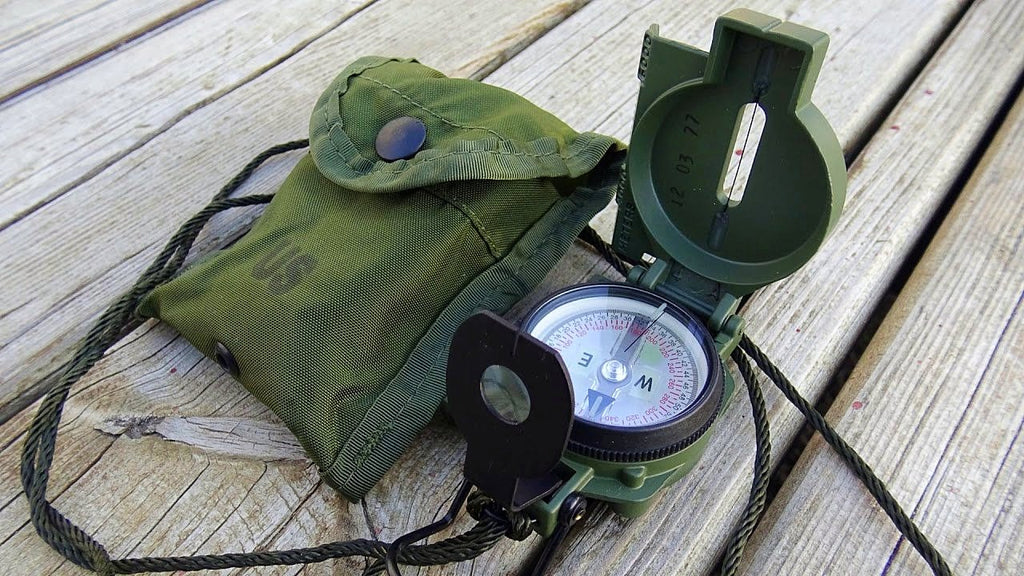 Cammenga Lensatic Compass Phosphorescent, Clam Pack