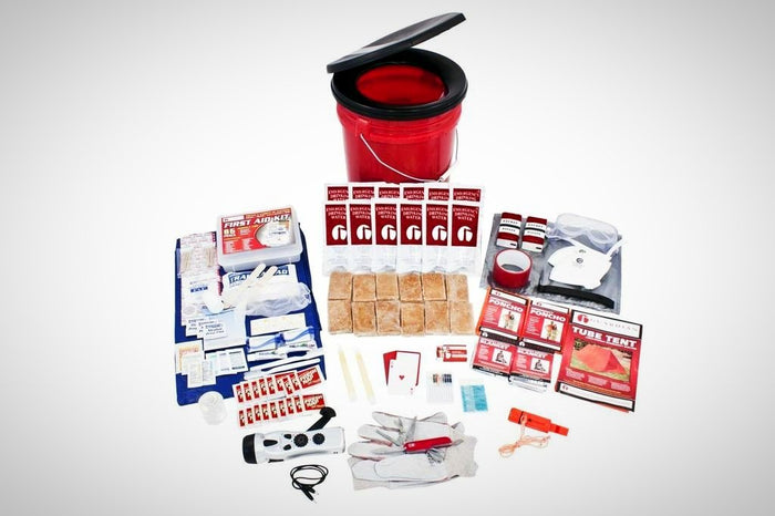 2 Person Bucket Survival Kit