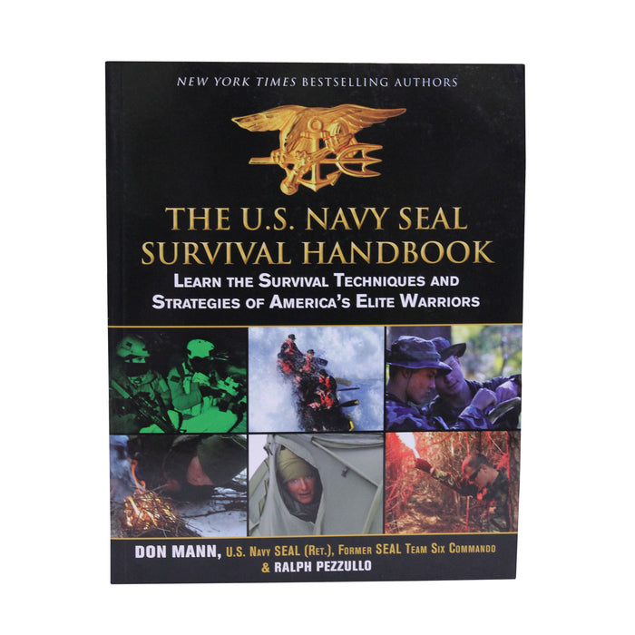 Proforce Equipment Books The US Navy Seal Survival Handbook