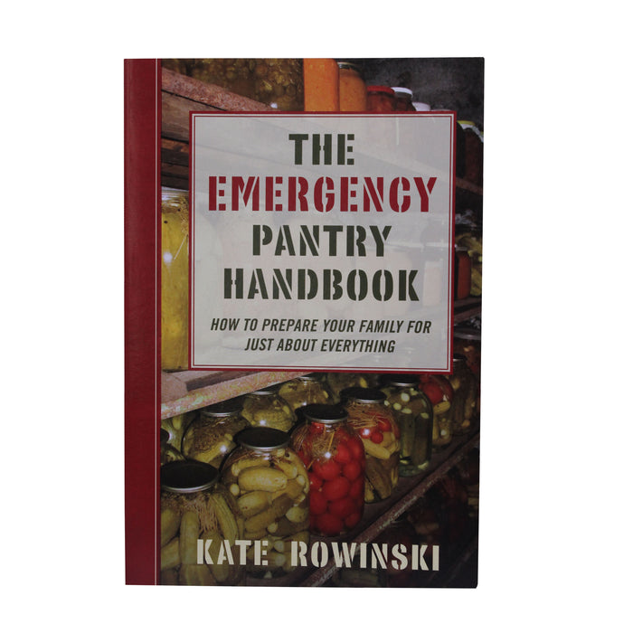 Proforce Equipment Books Emergency Pantry Handbook