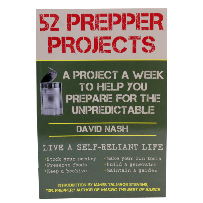 Proforce Equipment Books 52 Prepper Projects