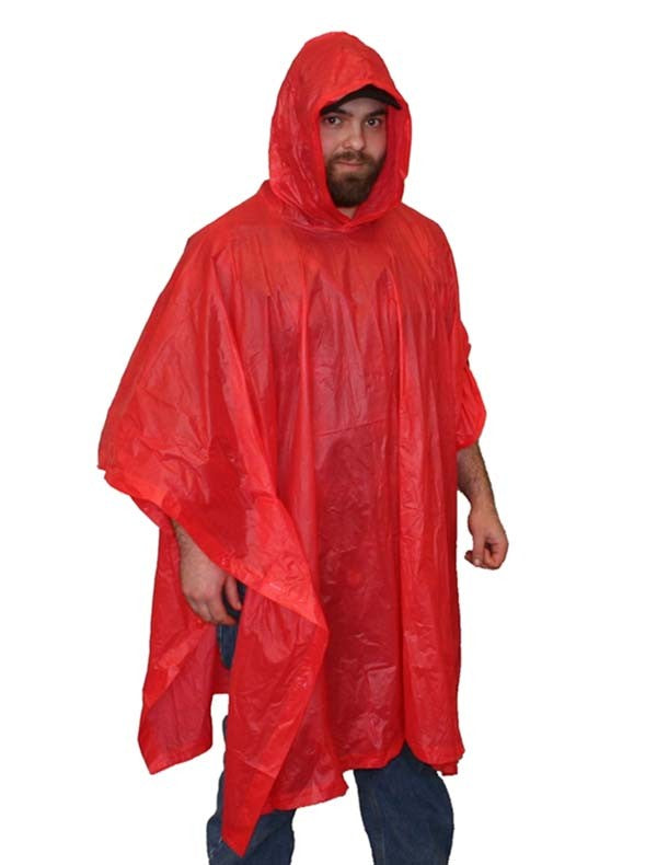 Vinyl Emergency Poncho