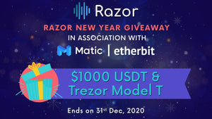 New Year 2020 giveaway with Razor & Matic Network