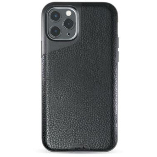 Mous Contour Black Leather Case for iPhone 11 Pro