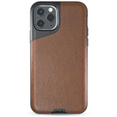 Mous Contour Brown Leather Case for iPhone 11 Pro