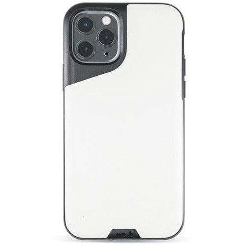 Mous Contour White Leather Case for iPhone 11 Pro Max