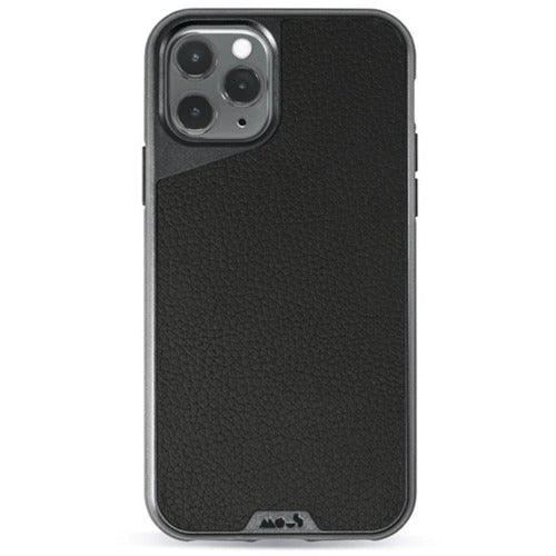 Mous Limitless 3.0 Black Leather Case for iPhone 11 Pro