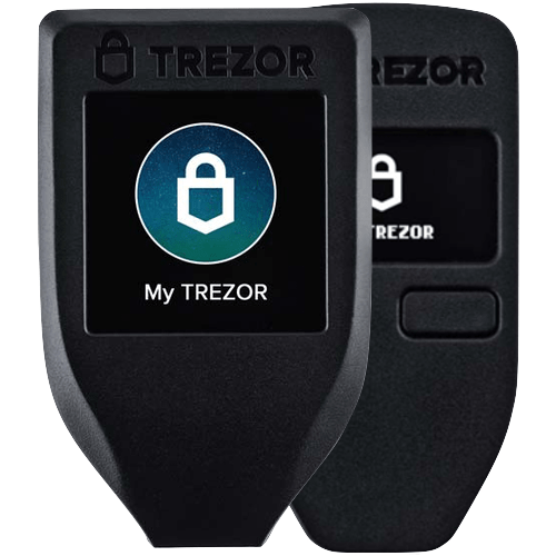 Trezor Backup Pack: Trezor Model T + Trezor One