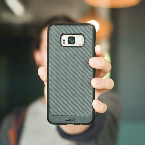 Mous Limitless 2.0 Real Aramid Carbon Fibre Case for Samsung S8