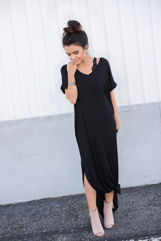 Baillee Pocket Maxi Dress - Dresses - The Valley Boutique - Canada Online Shopping