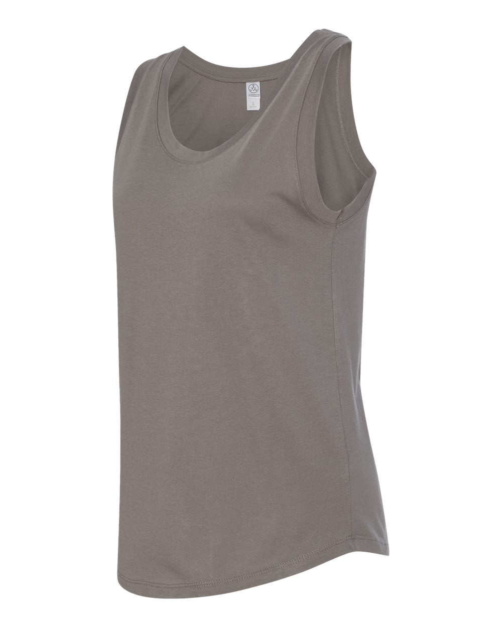 Blair Basic Muscle Tank- Nickel - Shirts - The Valley Boutique - Canada Online Shopping