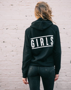 "The Girls ""Top Knot"" Hoodie - Sweatshirt - The Valley Boutique - Canada Online Shopping"
