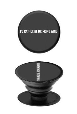 Rather Be Drinking Wine Phone Socket - Accessories - The Valley Boutique - Canada Online Shopping