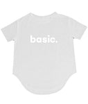 BASIC TShirt- White - Shirts - The Valley Boutique - Canada Online Shopping