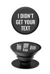 Didn't Get Your Text Phone Socket - Accessories - The Valley Boutique - Canada Online Shopping