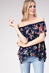 Jade Off The Shoulder Top - Shirts - The Valley Boutique - Canada Online Shopping