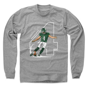 Jake Elliott Men's Long Sleeve | 500 LEVEL