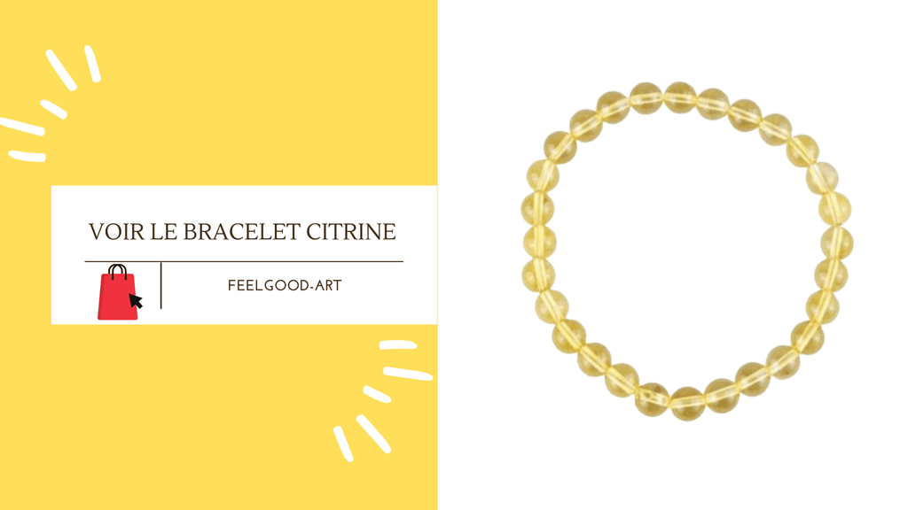 Bracelet Citrine FeelGood-Art