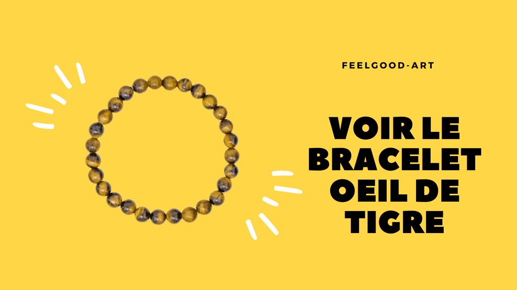 Bracelet oeil de tigre authentique