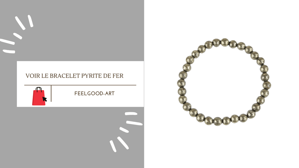 Bracelet Pyrite de Fer FeelGood-Art