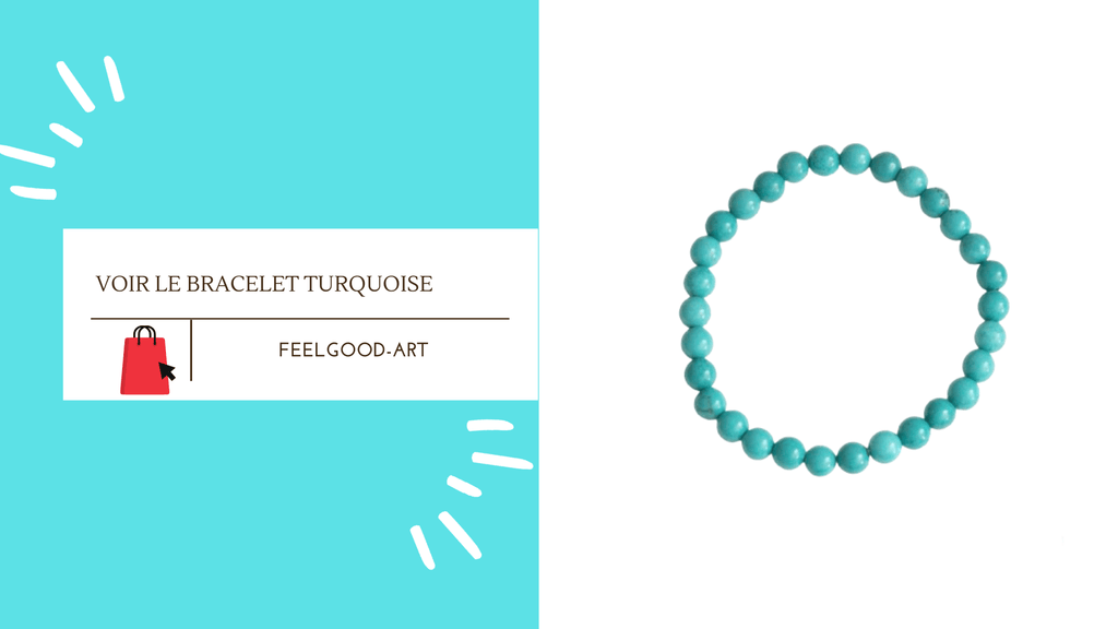 Bracelet Turquoise FeelGood-Art