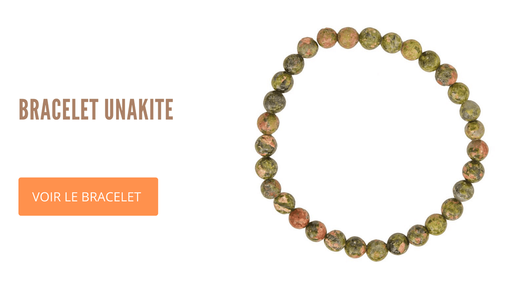 Bracelet Unakite Signification