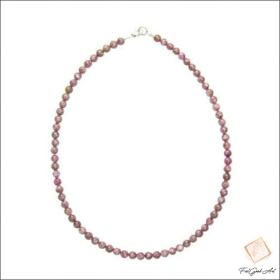 Collier Pierre Naturelle Rubellite
