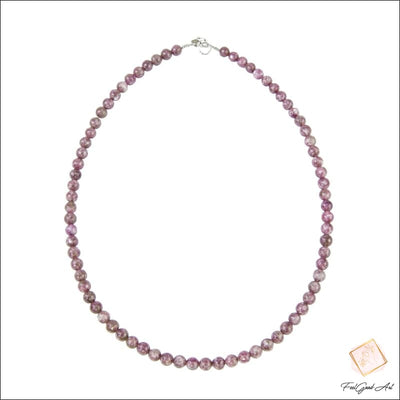 Collier Pierre Naturelle Tourmaline rose