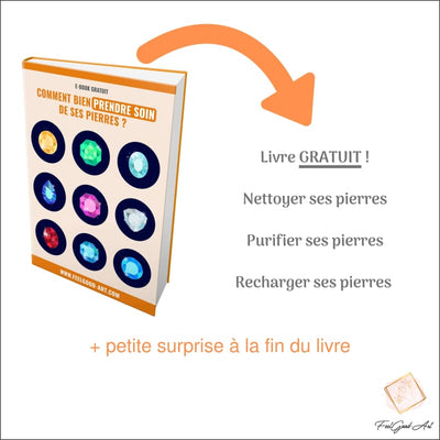 Comment purifier les pierres roulées 500 grammes Calcite orange ?