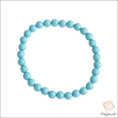 Bracelet Howlite bleue - Feelgood-art