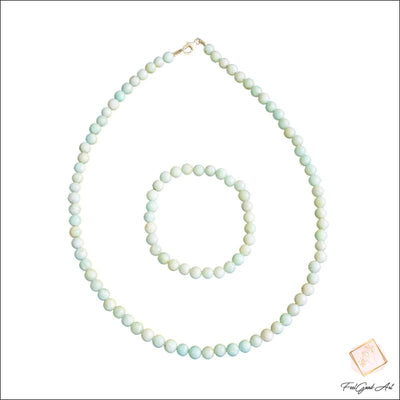 Bracelet et Collier Amazonite