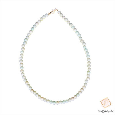 Collier Pierre Naturelle Amazonite
