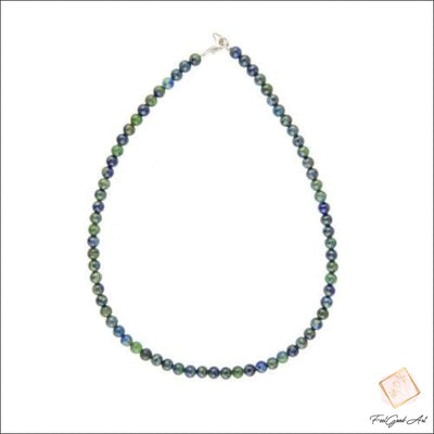 Collier Pierre Naturelle Chrysocolle