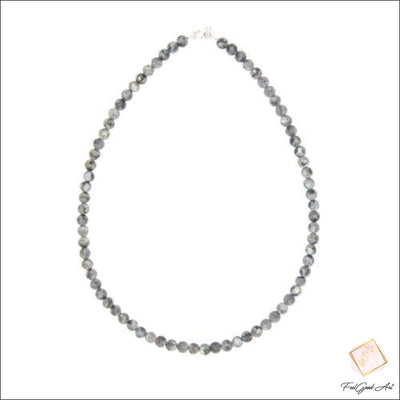 Collier Pierre Naturelle Larvikite