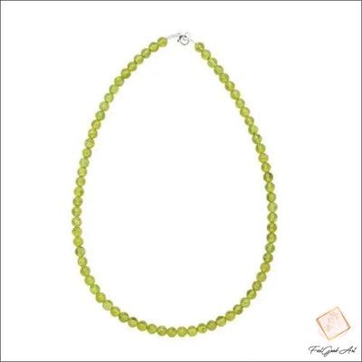 Collier Pierre Naturelle Péridot
