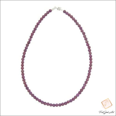 Collier Pierre Naturelle Rubis