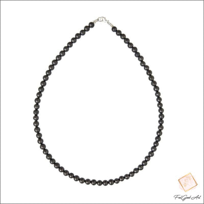 Collier Pierre Naturelle Shungite
