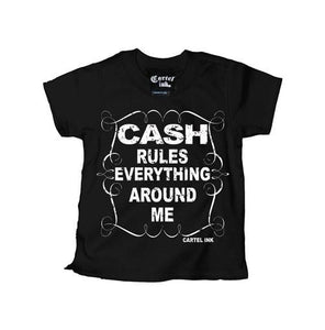 "Kid's ""Cash Rules Everything Around Me"" Tee"