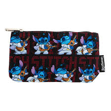 DISNEY LILO AND STITCH ELVIS STITCH NYLON POUCH